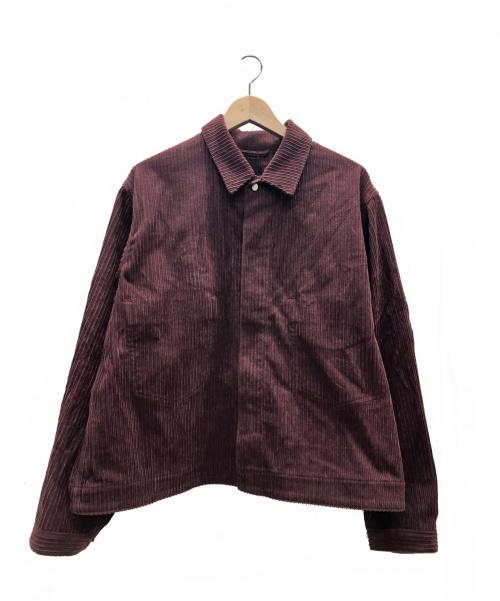 bukht(ブフト)bukht (ブフト) ビッグコードGジャン バーガンディー サイズ:2 未使用品  BV-31585 BIG CORD G-JAN 参考定価¥31.000+税の古着・服飾アイテム