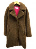 REPLAY(リプレイ)の古着「エコファーコート」 ブラウン