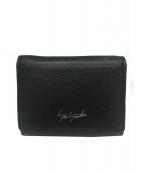 discord Yohji Yamamoto(ディスコードヨウジヤマモト)の古着「3つ折り財布」|ブラック