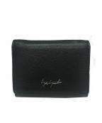 discord Yohji Yamamoto(ヨウジヤマモト)の古着「3つ折り財布」|ブラック