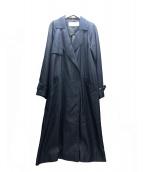 LE CIEL BLEU(ルシェルブルー)の古着「トレンチコート」 インディゴ