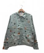 WEIRDO(ウィアード)の古着「ジップアップジャケット」 グリーン