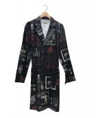 GANGSTERVILLE(ギャングスタビル)の古着「ショップコート」|ブラック