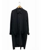 syte(サイト)の古着「ウールギャバシャツコート」 ブラック