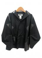 ISSEY MIYAKE(イッセイミヤケ)の古着「プリーツジャケット」 ブラック