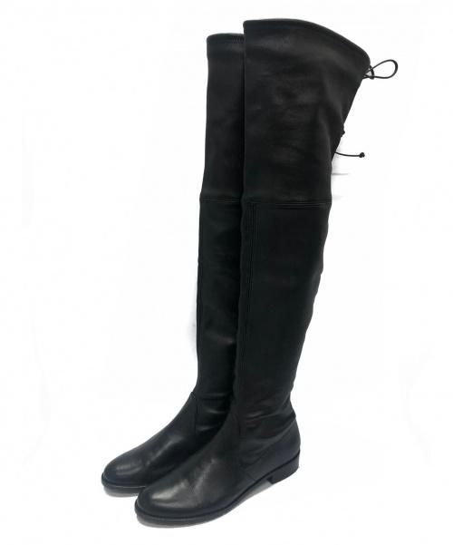 STUART WEITZMAN(スチュワートワイツマン)STUART WEITZMAN (スチュワートワイツマン) ブーツ ブラック サイズ:371/2 UL 15991の古着・服飾アイテム