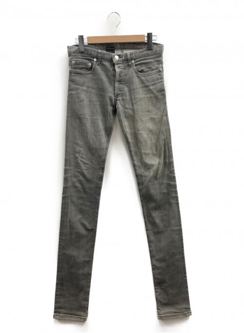 Dior Homme(ディオールオム)Dior Homme (ディオールオム) スキニーデニムパンツ グレー サイズ:28 KRISVANASSCHE期の古着・服飾アイテム