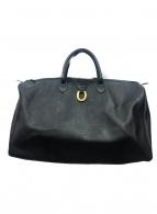 Christian Dior(クリスチャンディオール)の古着「トロッタートラベルボストンバッグ」|ブラック