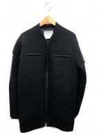STAMPD(スタンプド)の古着「スポンジスタジャンコート」|ブラック