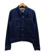 ()の古着「チンストラップデニムジャケット」|インディゴ