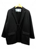 Dulcamara(ドゥルカマラ)の古着「よそいきダブルジャケット」|ブラック