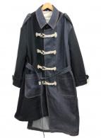 KHOKI(コッキ)の古着「フォールコート」|ブラック×インディゴ