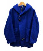 Edwina Horl(エドウィナ ホール)の古着「トグルダッフルコート」|ブルー