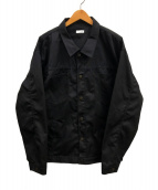 WILLY CHAVARRIA(ウィリーチャバリア)の古着「オーバーサイズデニムジャケット」|ブラック