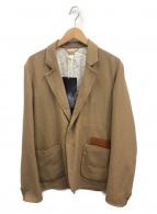 SUNSEA(サンシー)の古着「ナイスマテリアルブッシュドジャケット」|ベージュ