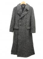 COMME des GARCONS(コムデギャルソン)の古着「ウールダブルコート」|グレー