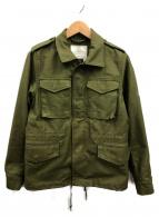 HYKE(ハイク)の古着「M65フィールドミリタリージャケット」|オリーブ