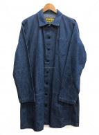 nemeth(ネメス)の古着「デニムショップコート」|インディゴ