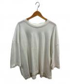 WILLY CHAVARRIA(ウィリーチャバリア)の古着「コットンワイドTシャツ」 ホワイト