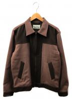WACKO MARIA(ワコマリア)の古着「ジップアップジャケット」|ブラウン