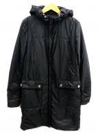 JIL SANDER NAVY(ジルサンダーネイビー)の古着「パデットフードコート」|ブラック
