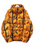 CARHARTT WIP(カーハート ダブリューアイピー)の古着「中綿アノラックパーカー」 オレンジ