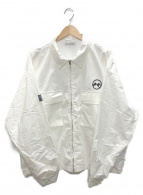FLAGSTUFF(フラグスタッフ/フラッグスタッフ)の古着「ウェルカムフルジップジャケット」|ホワイト