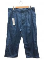 WILLY CHAVARRIA(ウィリーチャバリア)の古着「ワイドパンツ」|ブルー