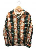 TOGA VIRILIS(トーガ ヴィリリース)の古着「キュプラコットンプリントシャツ」 マルチカラー