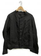 scye(サイ)の古着「リネンワークジャケット」|ブラック