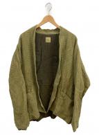 ts(s)(ティーエスエス)の古着「ガーメンントダイリネンワッフルジャケット」|オリーブ