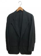IROQUOIS(イロコイ)の古着「ツイル2Bジャケット」 ブラック