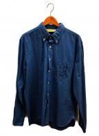The Stylist Japan(ザスタイリストジャパン)の古着「シャンブレーシャツ」|ブルー