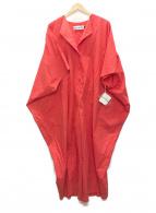 ISSEY MIYAKE(イッセイミヤケ)の古着「オールインワン」|オレンジ