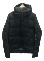DESCENTE(デサント)の古着「水沢ダウンジャケット」 ブラック