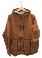 ()の古着「パッカブル3レイヤーレインジャケット」|ブラウン