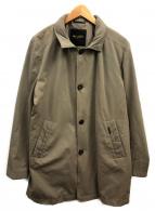 MOORER(ムーレー)の古着「撥水オーバーコート」|カーキ