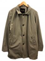 MOORER(ムーレー)の古着「撥水オーバーコート」 カーキ