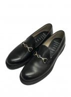 FOOTSTOCK ORIGINALS × EDITION(フットストックオリジナルズ×エディション)の古着「別注ビットローファー」|ブラック