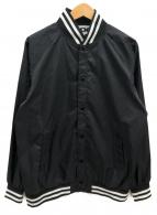 CDG(シーディージーコムデギャルソン)の古着「CDGヴァーシティージャケット」 ブラック