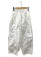TODAYFUL(トゥデイフル)の古着「ウォッシュドワイドパンツ」|ホワイト