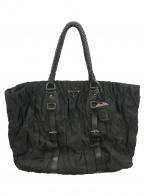 PRADA()の古着「ハンドバッグ」|ブラック