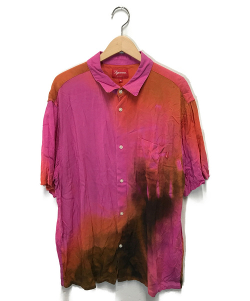 SUPREME(シュプリーム)SUPREME (シュプリーム) 半袖シャツ レッド サイズ:XL  20SSの古着・服飾アイテム