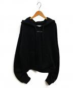 REPLAY(リプレイ)の古着「ルレックスフードパーカー」|ブラック