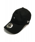 Ys × NEW ERA(ワイズ × ニューエラ)の古着「刺繍ロゴキャップ」|ブラック