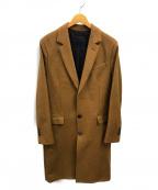ami(アミ)の古着「チェスターコート」 ベージュ