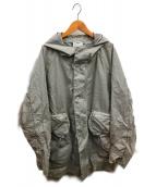 ()の古着「ザックコート」|グレー