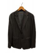 ()の古着「鹿の子テーラードジャケット」|グレー