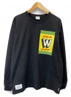 WTAPS(ダブルタップス)の古着「ロングスリーブカットソー」|ブラック
