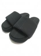 Y-3(ワイスリー)の古着「プラットフォームスライダーズ」|ブラック